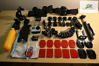 Gopro Hero 4 Black - Tons of Accessories!