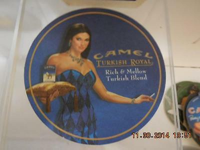 Wow Set Of 6 Camel Cigarettes 2002 Turkish Royal Cardboard Coasters Wow