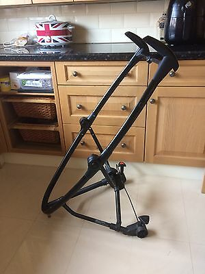 QUINNY Zapp Xtra Chassis Frame Only Free Post Black True Ltd Edition Spare Parts