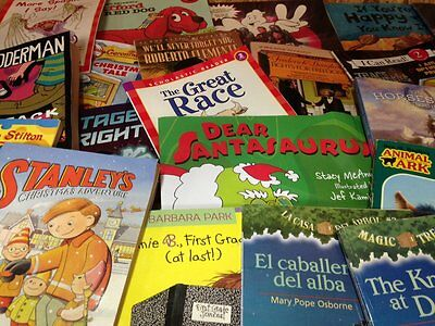 100 Children's Books Grade Level 2 and 3  w/Free Shipping .59 each