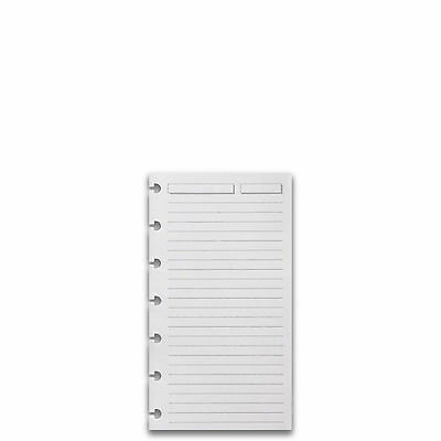 Levenger Circa Refill Sheets, Compact-Full Page Ruled (300) (ADS3215 WH RL)