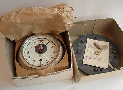 New!!! Ussr Russian Soviet Submarine Navy Marine Ship Wall Clock 3-93 7965