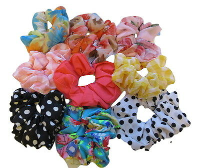 Hair Scrunchies Scrunchie Elastic Scrunchy Sports Gymnastics School Girls Ladies