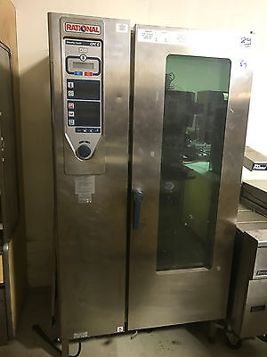 Rational CPC201G Convection Oven Self Clean Fully Automatic Restaurant Commercia