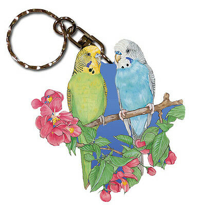 Parakeet Key Ring