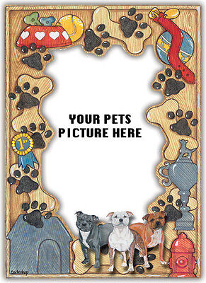 Staffordshire Bull Terrier Picture Frame