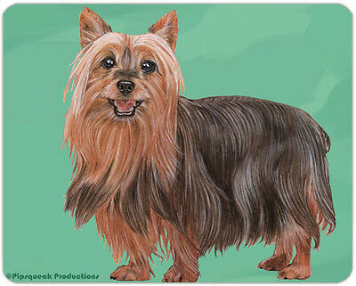 Silky Terrier Large Cutting Board
