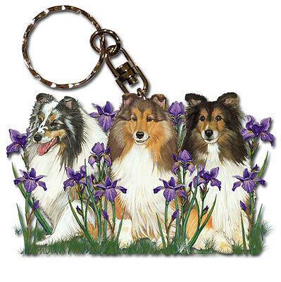 Sheltie Key Ring