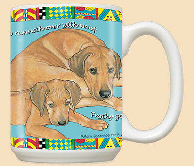 Rhodesian Ridgeback Ceramic Coffee Mug Tea Cup 15 oz