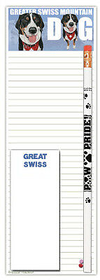 Greater Swiss Mountain Dog Shopping Pad