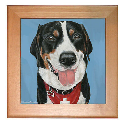 Greater Swiss Mountain Dog Trivet