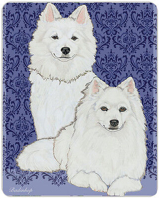 American Eskimo Large Cutting Board