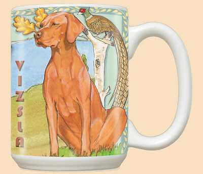 Vizsla Ceramic Coffee Mug Tea Cup 15 oz
