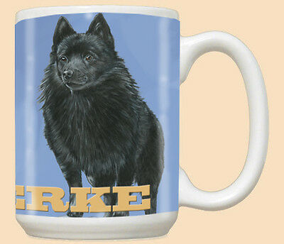 Schipperke Ceramic Coffee Mug Tea Cup 15 oz
