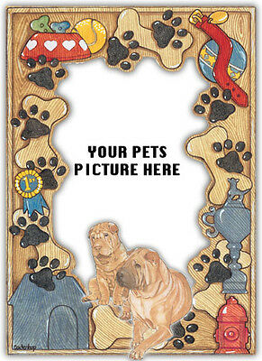 Shar-pei Picture Frame