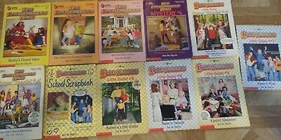 The Babysitter club and Little sister books lot of 11