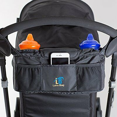 Stroller Organizer Buggy Baby Bag Bottle Cup Pouch Holder- Magnetic Closure