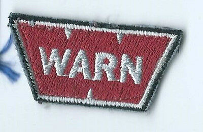 WARN business advertising patch 7/8 X 2 small size #1582