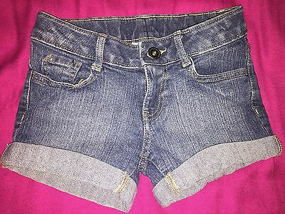 Girls SO Denim Jean Shorts Size 7 EUC!!