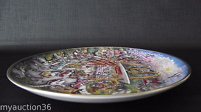 Vintage McDonalds Golden Moments By Bill Bell Franklin Collector Plate