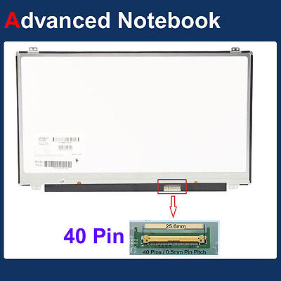 NEW 1366x768 15.6 LED Slim 40PIN Screen for Toshiba SATELLITE S50-B S50-A SERIES