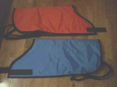 quantity (5) Calf blanket Water proof Insulated Quilting Amish Made farm dairy