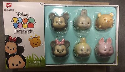Tsum Tsum Disney Pastel Parade Easter Limited Gift Set Walgreens Exclusive New