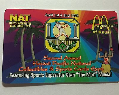 1995 Hawaii National Sports Convention Phone Card