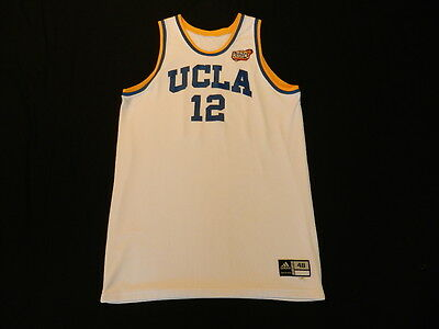 Alfred Aboya 2006 UCLA Bruins game used jersey from NCAA Championship game