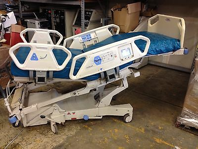 Lot of 2 Hill Rom TotalCare P1900 Hospital Bed Total Care