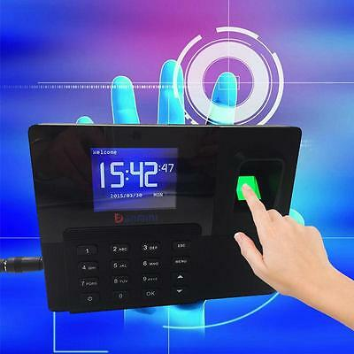 "2.8"" TCP/IP Color Fingerprint Attendance Time Clock System Door Access Control"