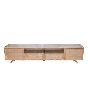 TV Stand Entertainment Unit 2400mm Cabinet Draw Plasma LCD LED