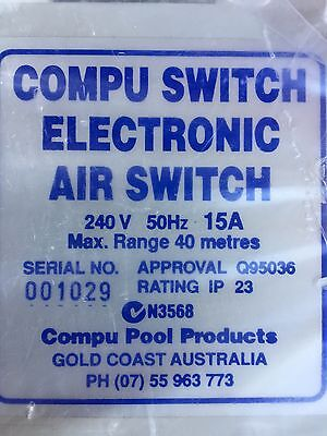 Compu Pool Air Switch Single 10amp Plug Electronic Controller - Spa & Pools
