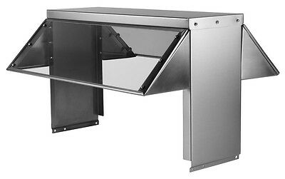 """32"""" Universal Buffet Sneeze Guard for 2 Well Steam and Cold Pan Tables"""