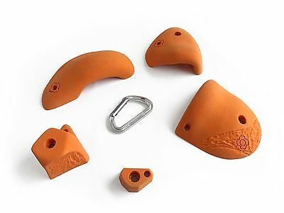 Rock climbing holds - TNUT CLIMBING ROOF PACK - 5 holds (#27)