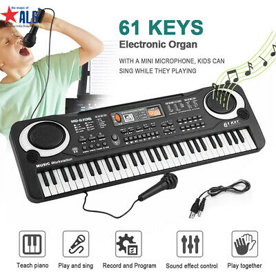 61 Keys Digital Music Electronic Keyboard Electric Piano Toy Key Board Gift