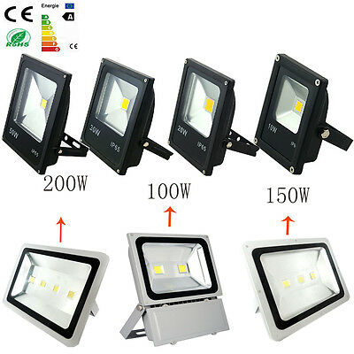 Slim Style 10W-300W Outdoor Flood light warm/cold white LED Outdoor Lamp
