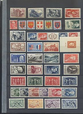 280317)..ANNEE 1949 COMPLETE NEUF** sauf 6 timbres qui sont*