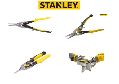 Stanley FatMax STA214563 Yellow Aviation Snip Straight Cut 250mm