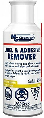 MG Chemicals Adhesive Label Remover, Aerosol Can Citrus Scent Plastic Safe 5oz