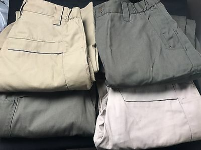 VTX3400 30X34 Lot Of Four VERTX Tactical Pants Green Tan Khaki New Without Tags.
