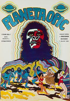 Original Planet of the Apes, Czech A1, Film/Movie Poster