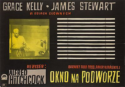 Original Rear Window, Polish A1, Film/Movie Poster, Hitchcock