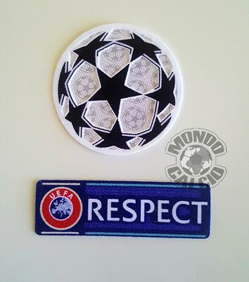 Toppa Toppe Champions League Respect Badge Patchs