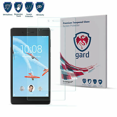 """2 x Tempered Glass Screen Protector for 7"""" Tablet Lenovo Tab 3 7"""" 730"""