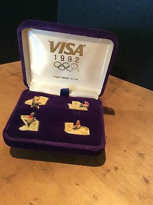 Winter Olympic Pin Badge Collection 1992 Albertville