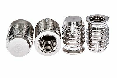Blind Self Tapping Inserts Stainless Steel Marine Grade 316: M2 To M20 (5 Pack)