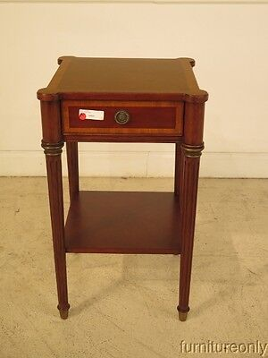 F24466: ETHAN ALLEN One Drawer Mahogany Nightstand