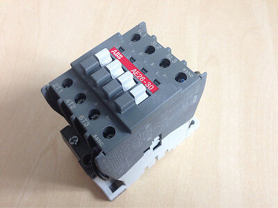 ABB AE26-30-00 24DC Coil 3-pole contactor AC3-11kW-400V