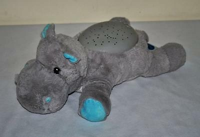 Cloud b Hippo Twilight Buddies Starry Night Projection Soothing Night Light